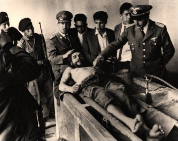 The Corpse of Che Guevara by Freddy Alborta