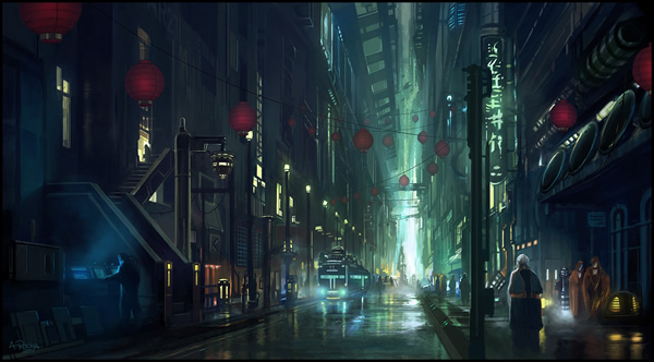 Endless Streets - 25 Truly Amazing Digital Paintings