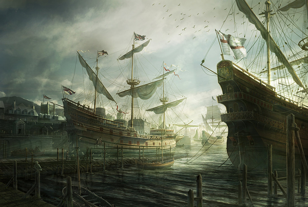 Susan Constant - 25 Truly Amazing Digital Paintings