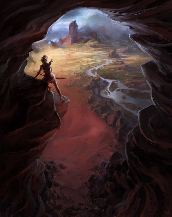 Vantage Point - 25 Truly Amazing Digital Paintings