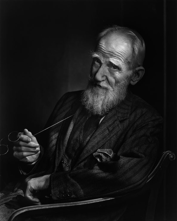 George Bernard Shaw - Portraits by Yousuf Karsh