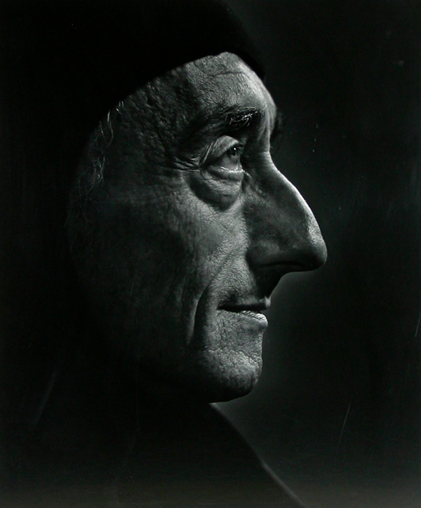 Jacques Cousteau  - Portraits by Yousuf Karsh