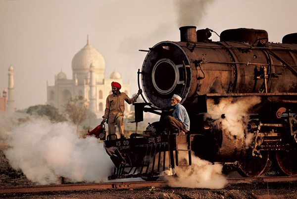 Steam Train by Steve McCurry