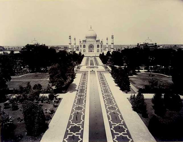 The Taj Mahal Circa 1890