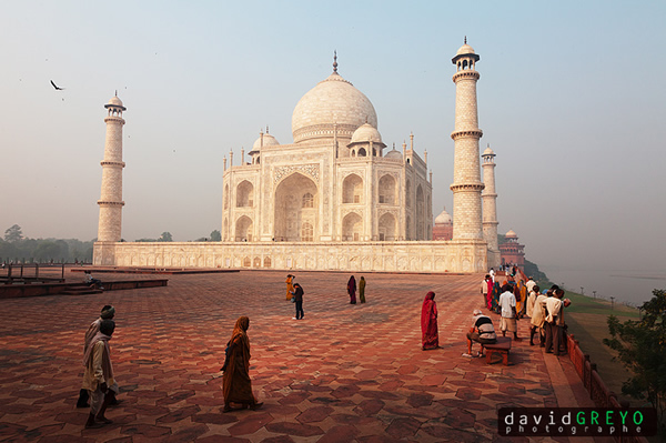 Taj Mahal by David Greyo