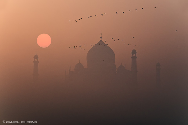 Misty Taj by Daniel Cheong