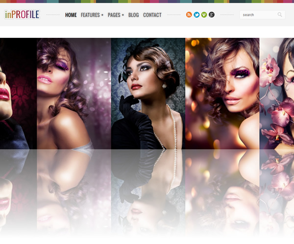 inProfile: Responsive Photography/Gallery WP Theme