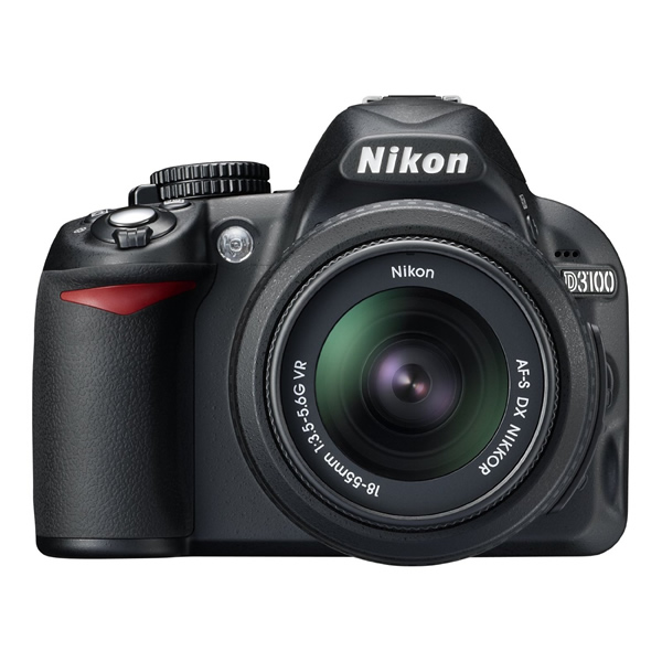 Nikon D3100 Digital SLR Camera with 18-55mm NIKKOR VR Lens