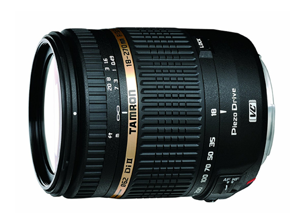 Tamron AF 18-270mm f/3.5-6.3 Di II PZD LD Aspherical IF Macro Zoom Lens with Built in Motor for Sony DSLR Cameras