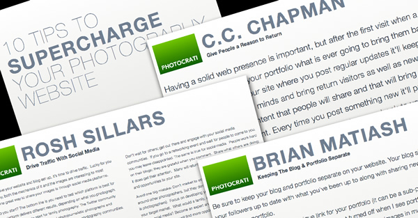Supercharge Your Photography Website – A Free eBook
