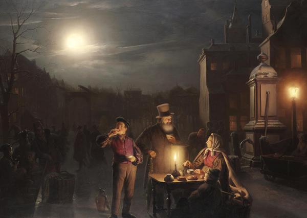 Classic Street Paintings By Petrus Van Schendel