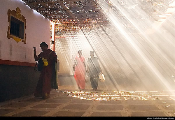 Bless me - Indian Color Street Photography