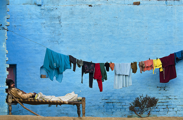 Chilled - Indian Color Street Photography