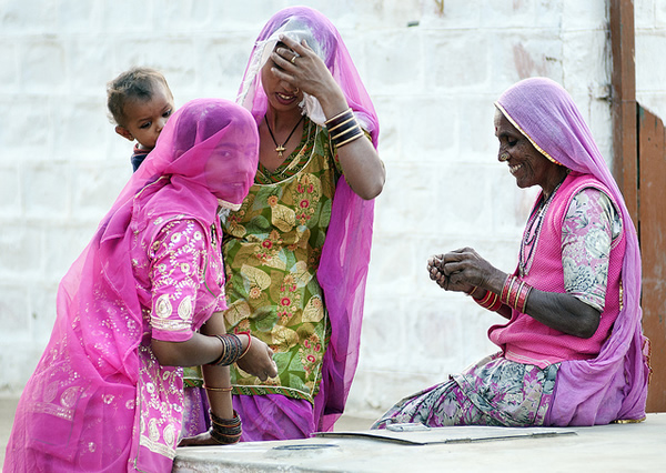 Village of khuri - Indian Color Street Photography