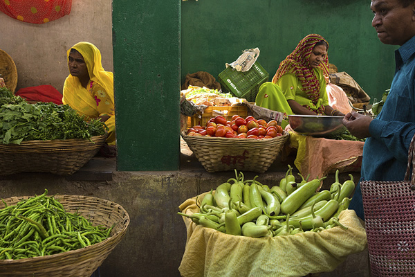 Market Udaipur - Indian Color Street Photography