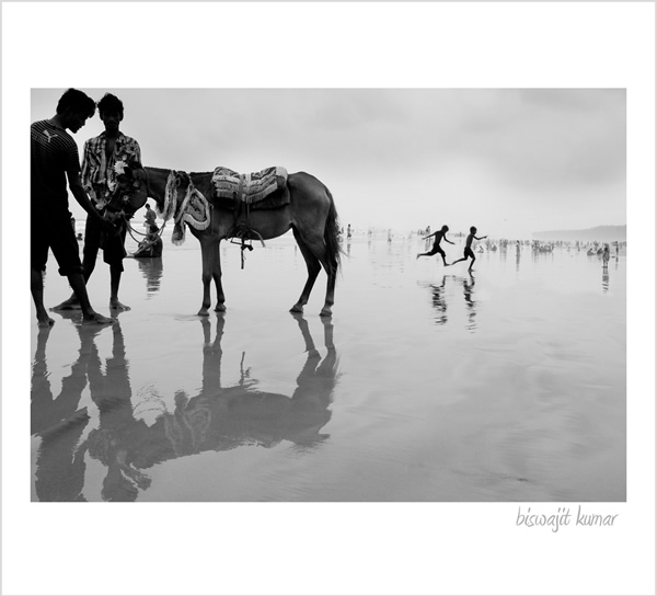 Fun in the beaches of Digha, WestBengal
