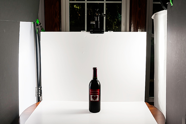Photographing a Wine Bottle by Monicoz Photography