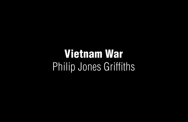 Vietnam War by Philip Jones Griffiths