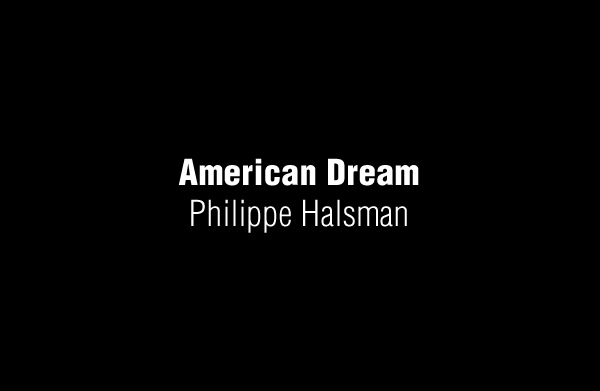American Dream by Philippe Halsman