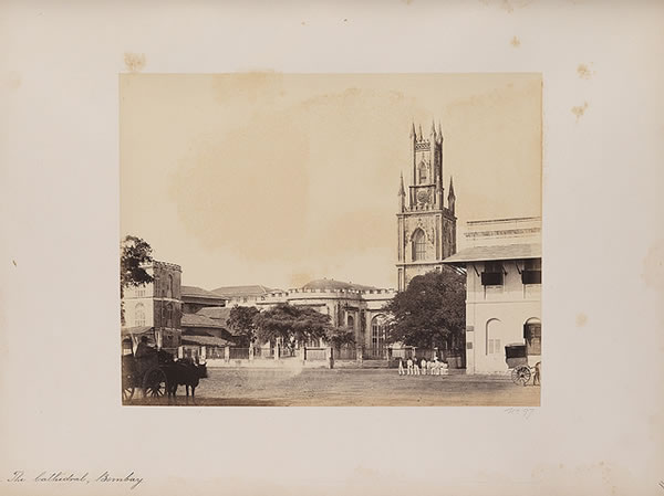 The Cathedral, Bombay (Mumbai), 1855-1862