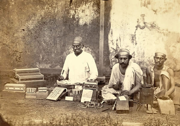 Work-Box Makers at Bombay (Mumbai) - 1873