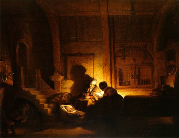 Classical Paintings by Rembrandt Harmenszoon van Rijn