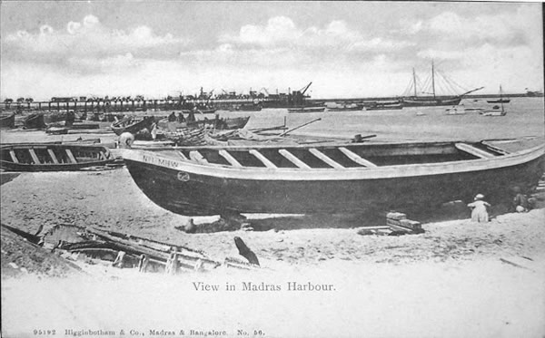 View in Madras Harbour - Madras (Chennai)