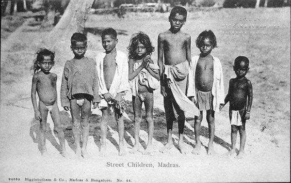 Street Children - Madras (Chennai)