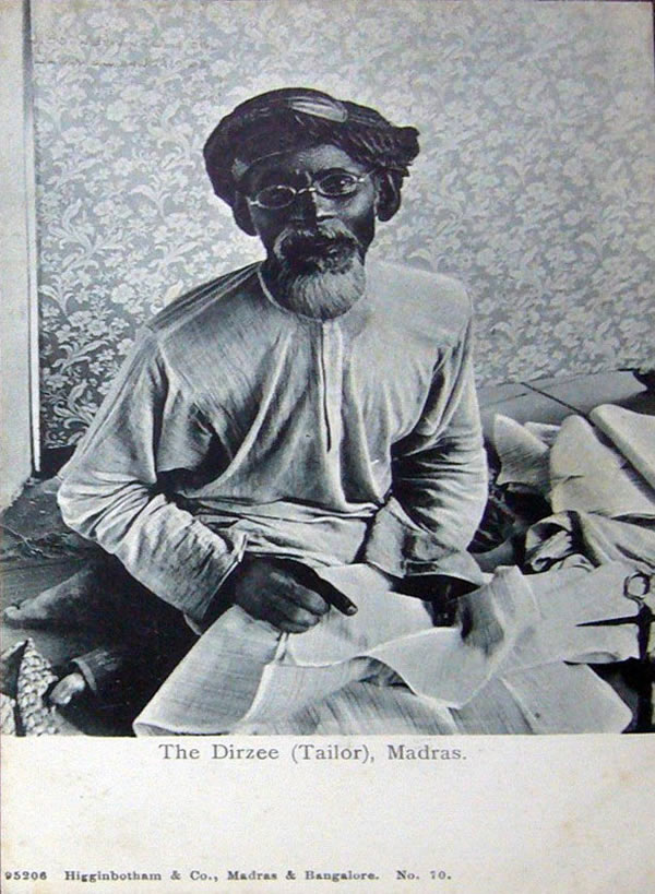 The Dirzee (Tailor) - Madras (Chennai)