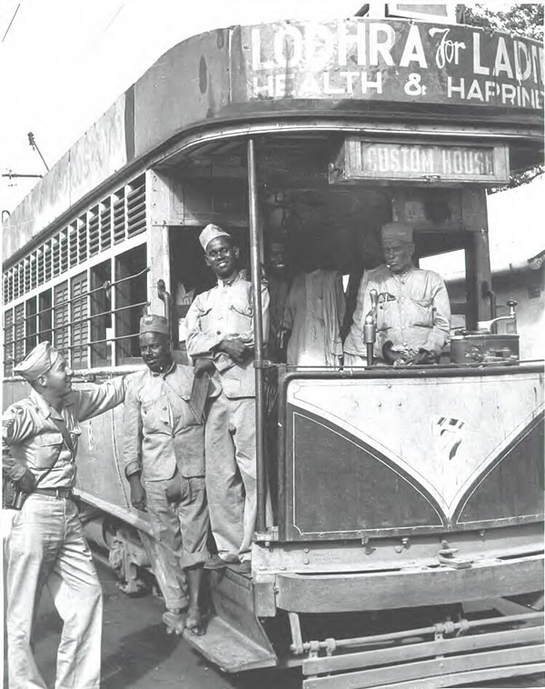 Tram to Custom House - Madras (Chennai)