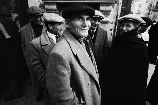 The Italians by Bruno Barbey