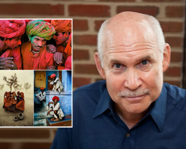 Steve McCurry talks about his inspiration of photographing in India