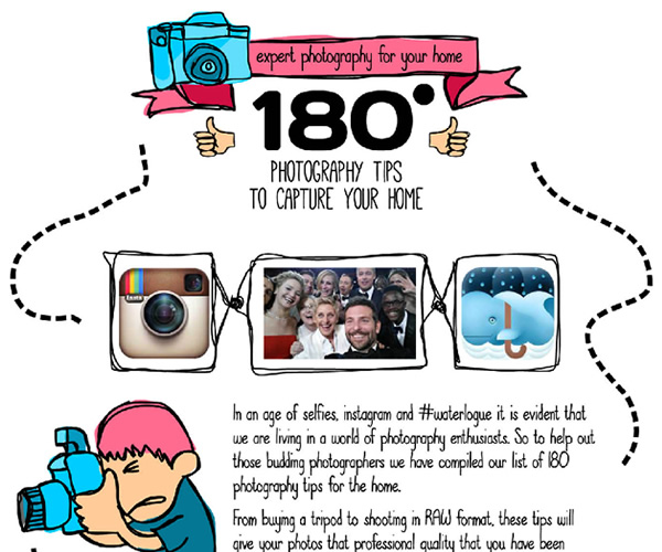 180 Photography Tips to capture your Home