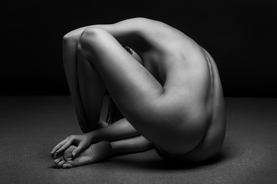 Naked art photography by polly penrose