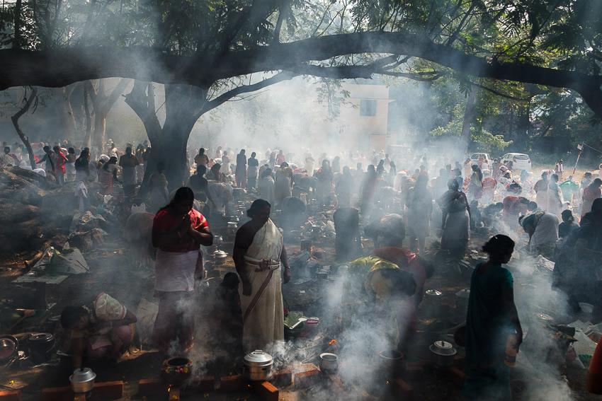 Attukal Pongala Festival - Photo Story By Sreeranj Sreedhar