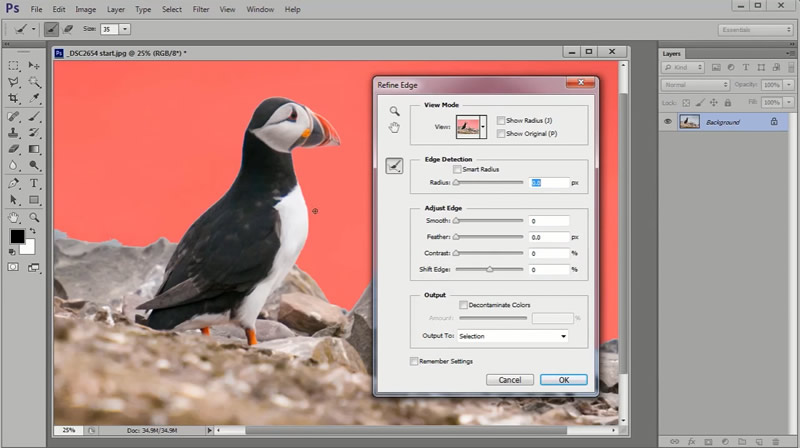Photoshop Video Tutorial - How To Recompose And Sharpen Images For Frame-Filling Results