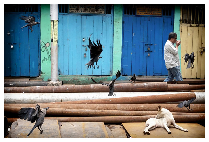 Manicktola, Kolkata - Street Photography and art of the composition