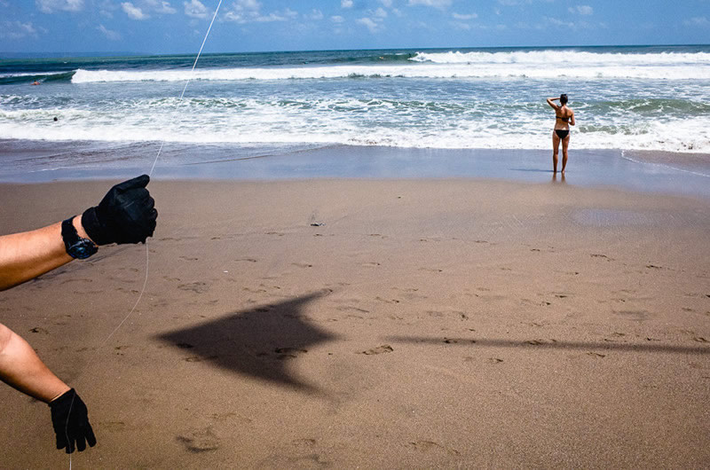 Beach Kite - Street Photography and art of the composition