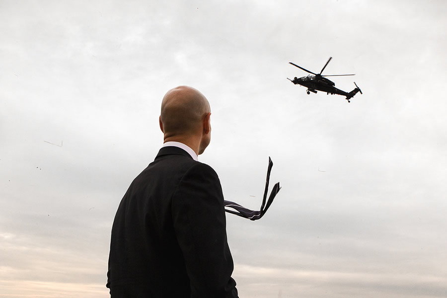 Helicopter, Poland - Street Photography and the art of composition photos