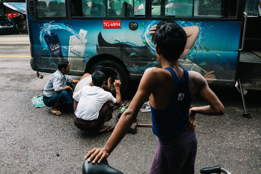 Myanmar Through The Eyes Of A Local - Street Photography Series By Sai Htin Linn Htet