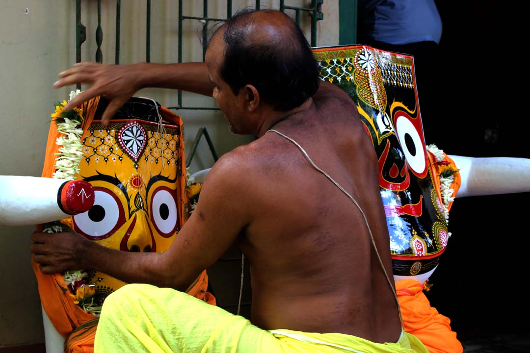 Rath Yatra Festival In Santal Village - Photo Story By Nilanjan Ray