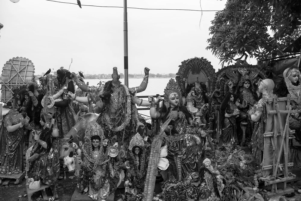 The Ganga and Devi - Photo Series By Saptarshi Choudhury