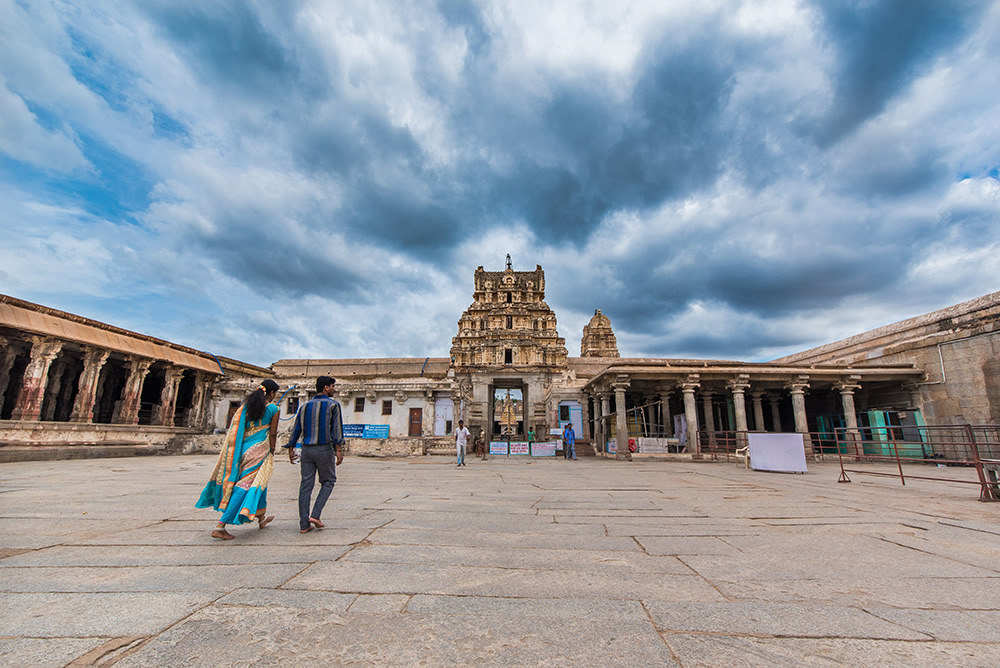 Veerupaksha Temple Premises