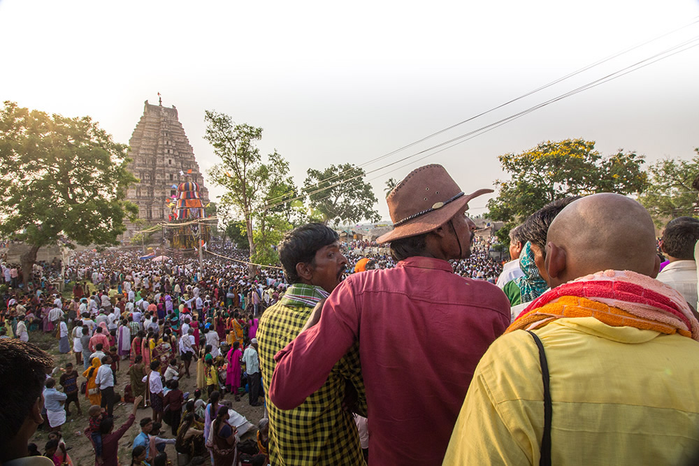 Procession of Veerupaksha Temple Hampi