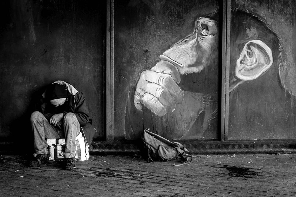 An Intimate Interview With Street Photographer HansSeverin By Arek Rataj