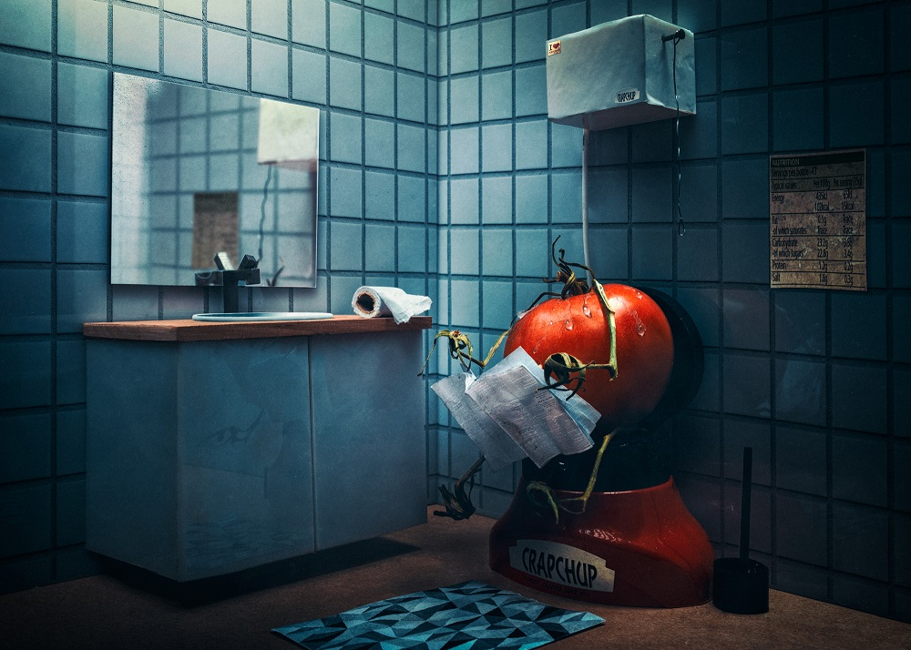 Photographer Juhamatti Vahdersalo Creates Characters Out Of Groceries And Then Make Stories About Them
