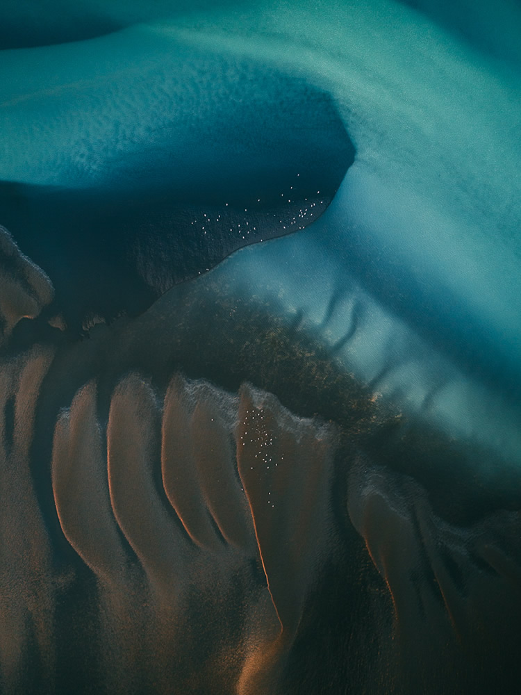 The River Veins: Beautiful Aerial Photos Of Iceland By Tom Hegen
