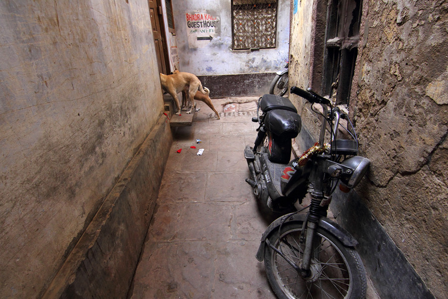 Lost In The Alleys Of Varanasi: Photo Series By Abhishek Nandy