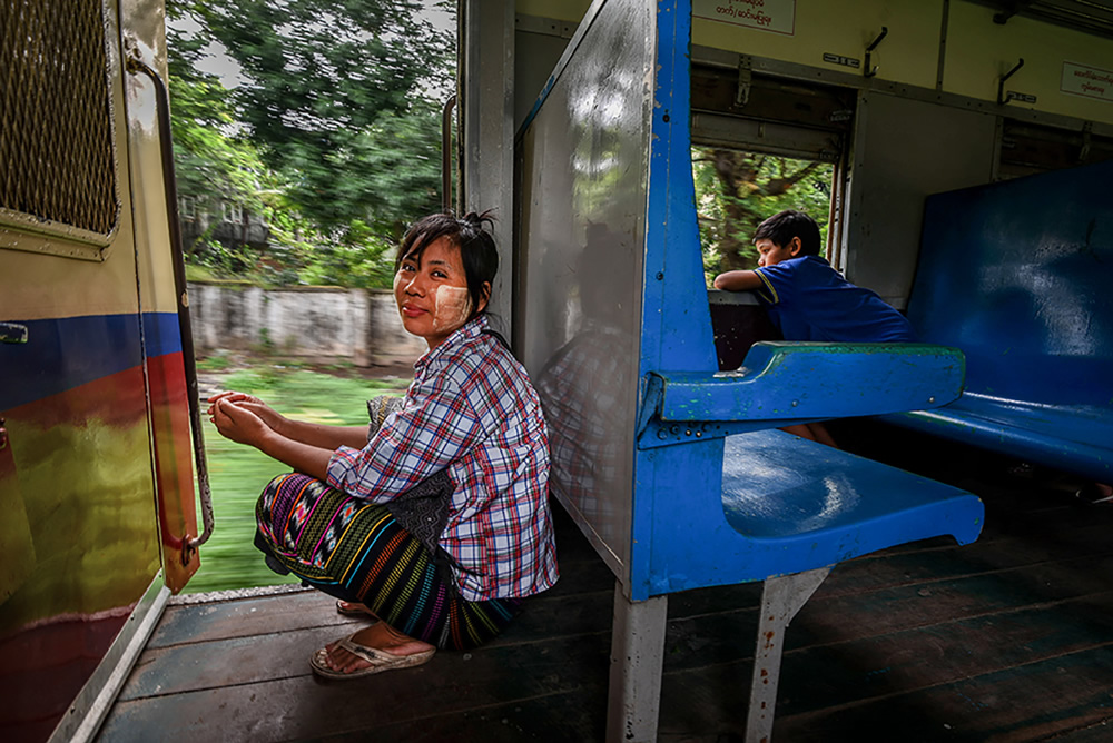 A Glimpse Into Local Life On The Yangon Circular Train By Tania Chatterjee