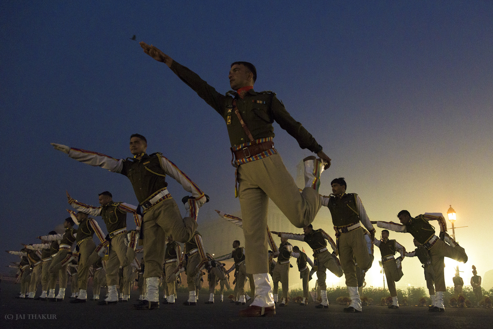 March To Perfection: Republic Day Rehearsals By Jai Thakur